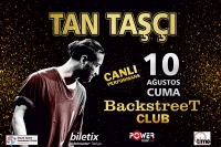 Tan Taşçı 10 Ağustos'ta Marmaris Backstreet Club'ta